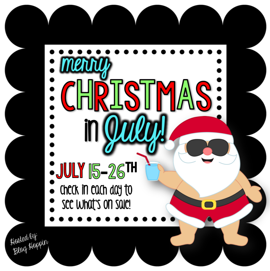 Christmas In July Clipart.