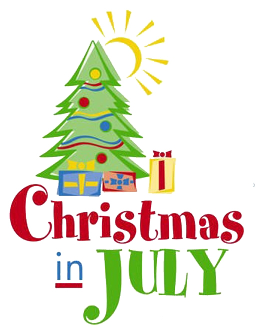 Christmas In July Clip Art.