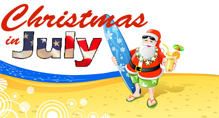 Free Clipart Christmas In July.