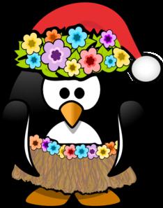 Christmas In July Penguin Clip Art at Clker.com.