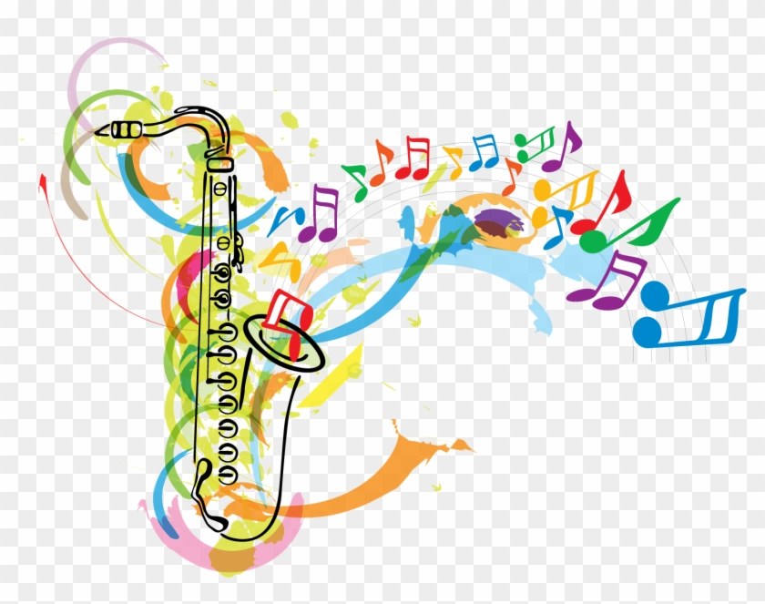 Christmas Music Notes Clipart.