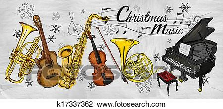 Christmas instruments clipart 2 » Clipart Portal.