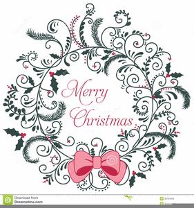 Christmas Invitation Free Clipart.