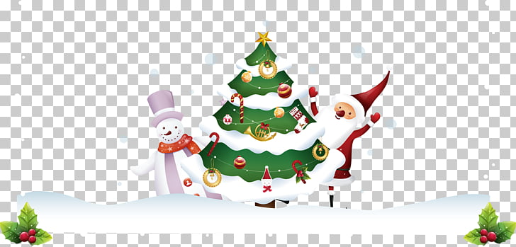 Santa Claus Wedding invitation Christmas tree Christmas.