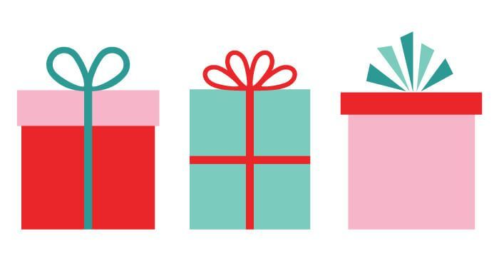 Christmas Gifts Clip Art.