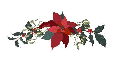 407 Christmas Ivy Stock Illustrations, Cliparts And Royalty Free.