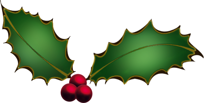 Download Free png Christmas Ivy Clipart.