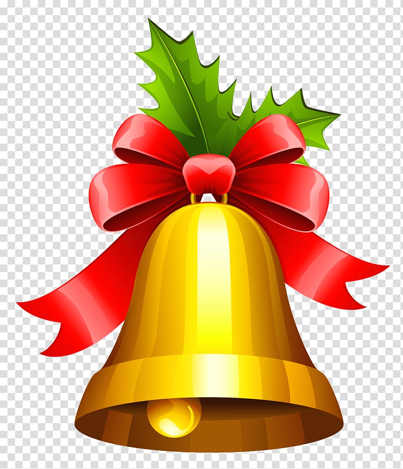 Christmas Jingle bell , Bell transparent background PNG clipart.