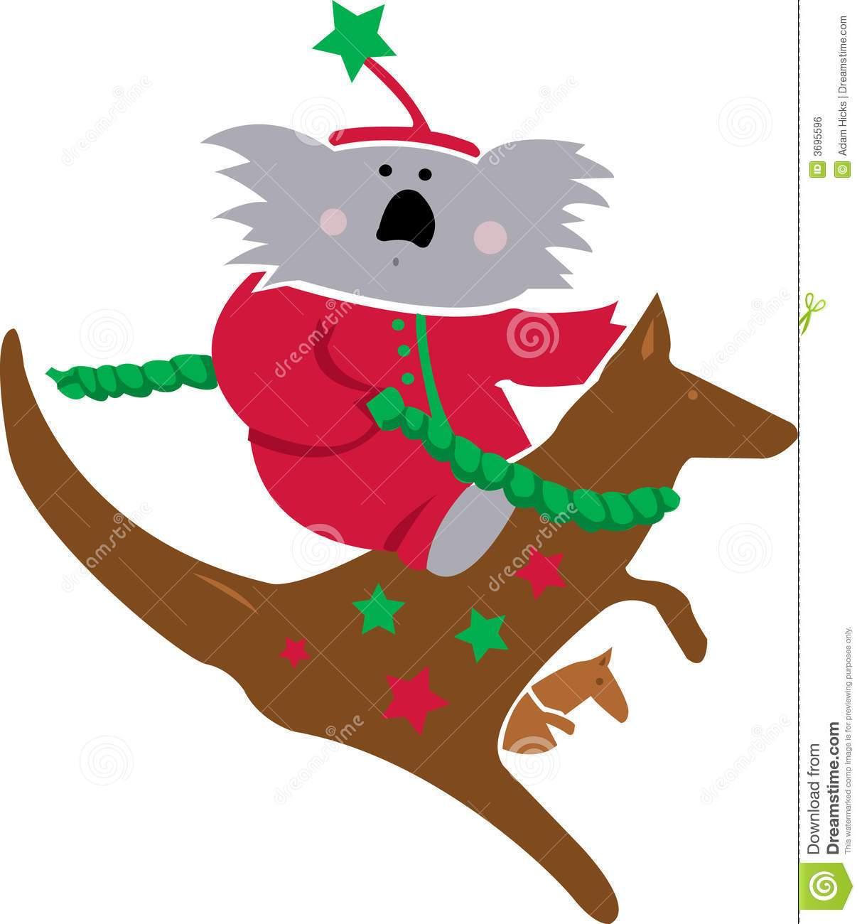 Christmas kangaroo clipart 7 » Clipart Portal.
