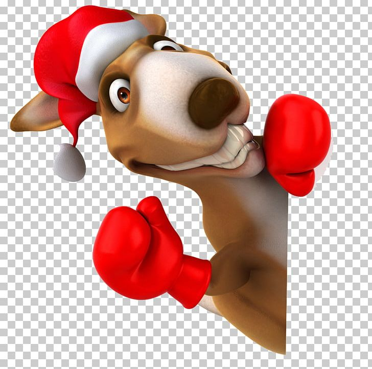 Kangaroo Christmas Stock Photography PNG, Clipart, 3d Animals.
