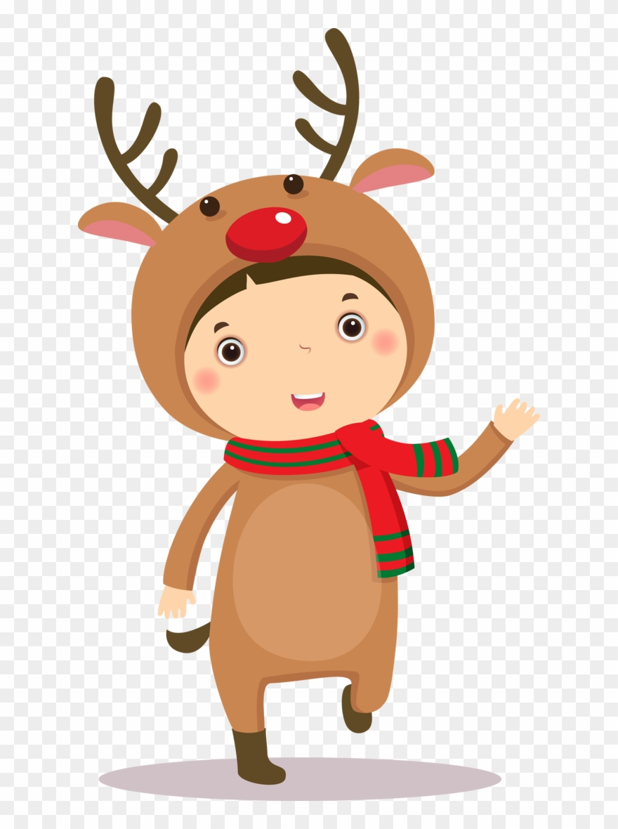 Christmas Kids Clipart.