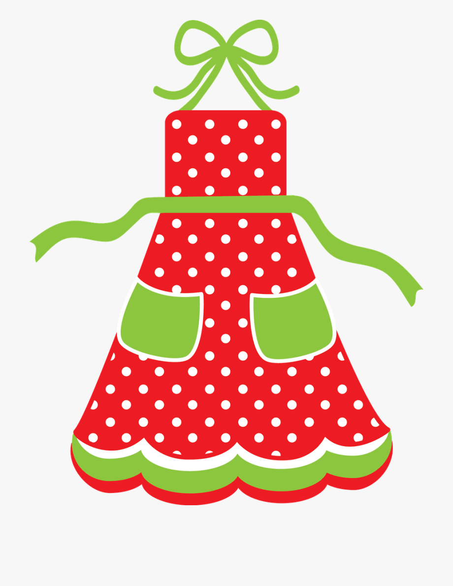 Kitchen Clipart, Christmas Aprons, Christmas Bells,.