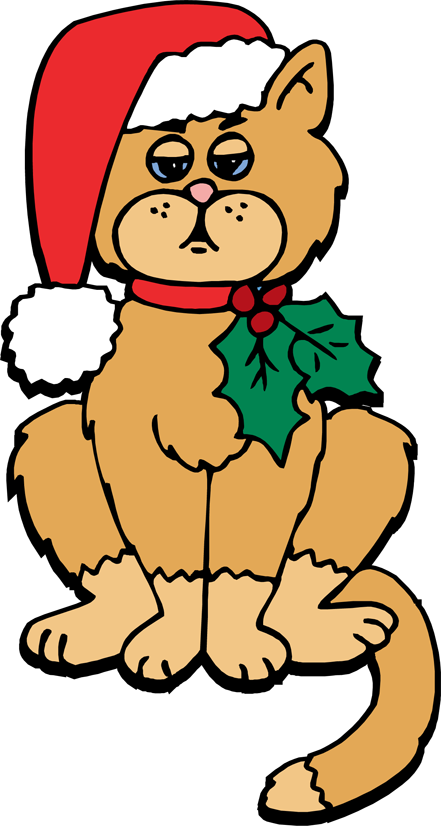Free Christmas Cat Clipart, Download Free Clip Art, Free.
