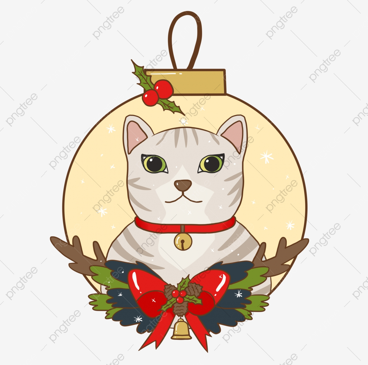 Christmas Cats And Dogs, Christmas, Puppy, Kitty PNG Transparent.