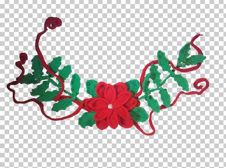 Christmas Ornament Crochet Garland Knitting PNG, Clipart.