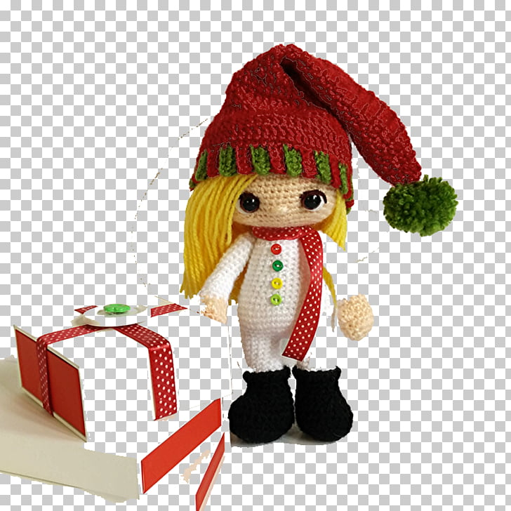 Crochet Animals Amigurumi Doll Pattern, Creative Christmas.