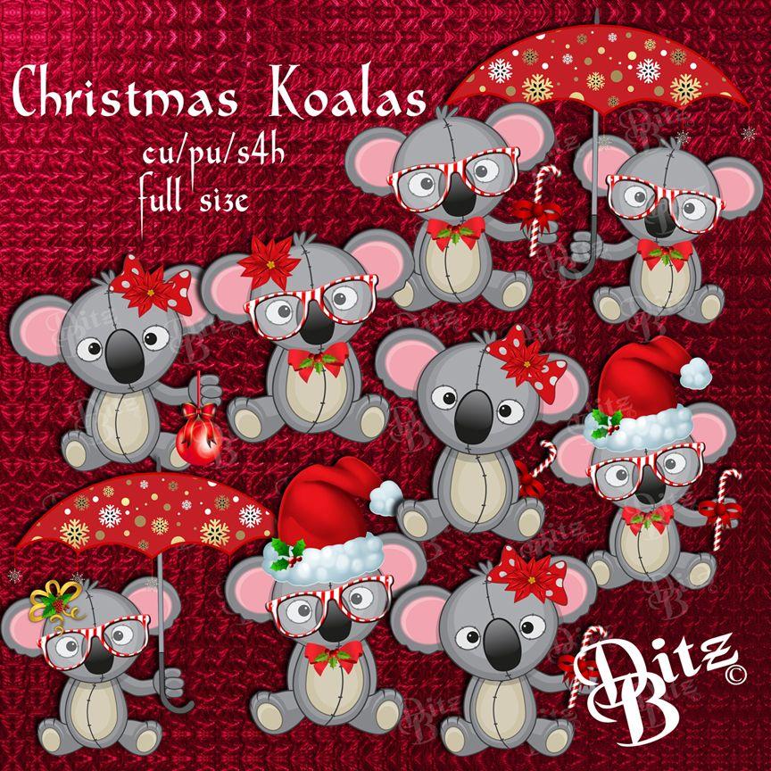 Christmas Koalas.
