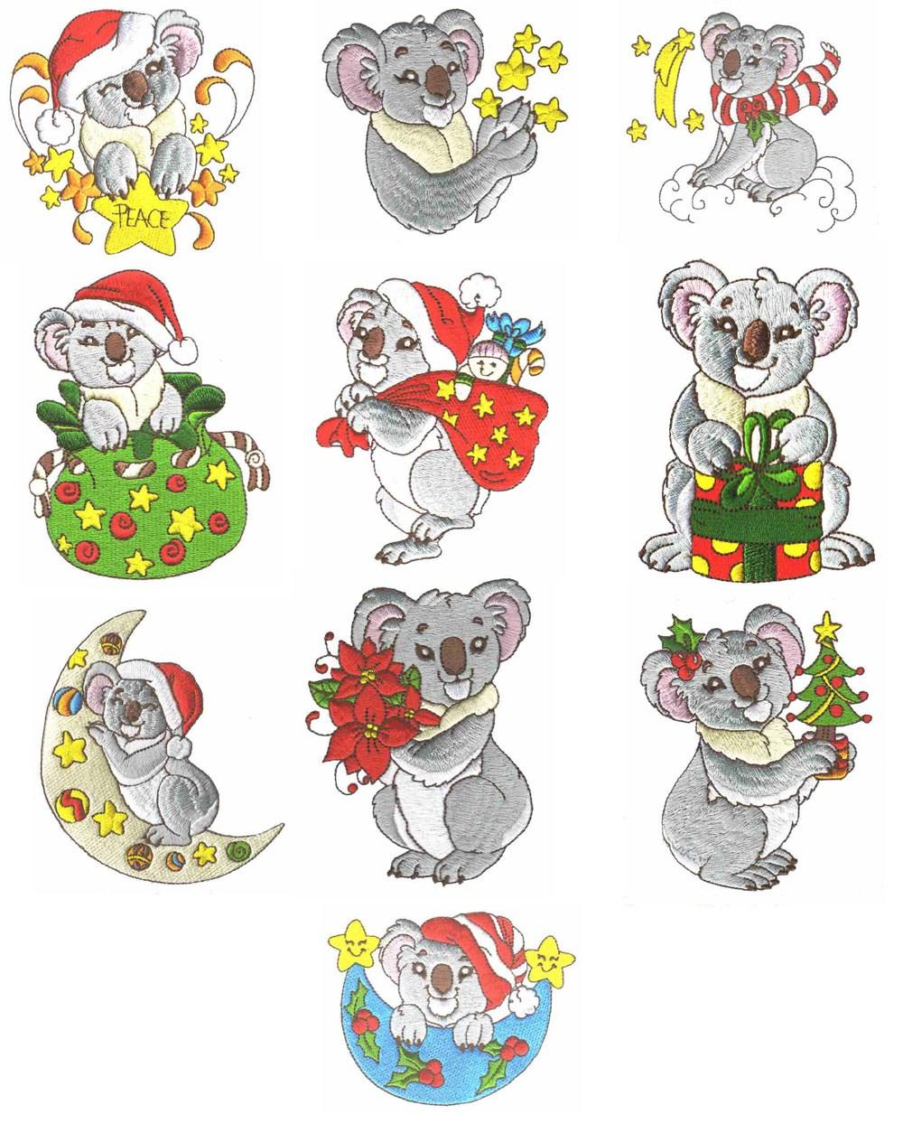 Christmas koala clipart 2 » Clipart Portal.