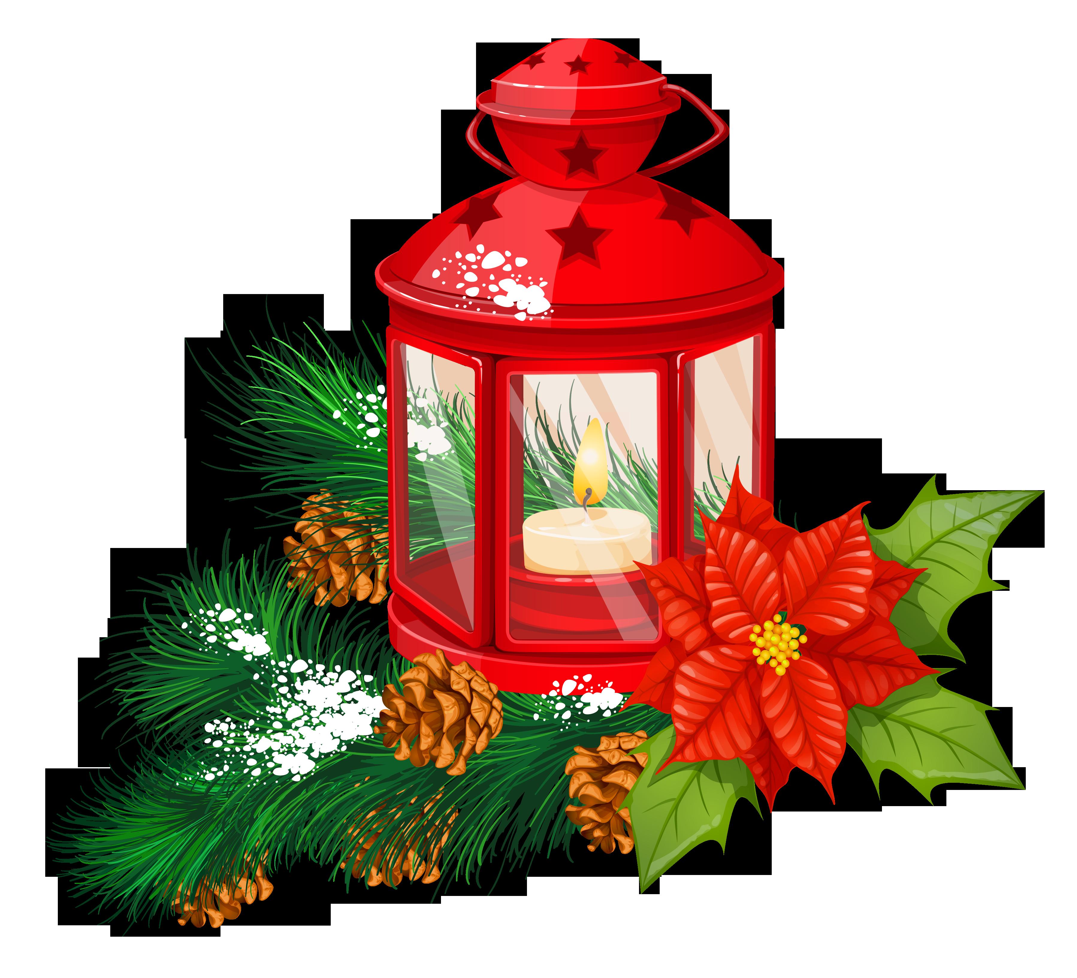 Christmas clip art lantern.