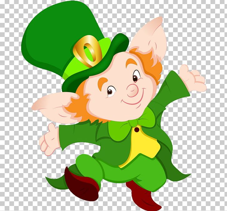 Leprechaun Elf Irish People PNG, Clipart, Art, Bunny, Cartoon.