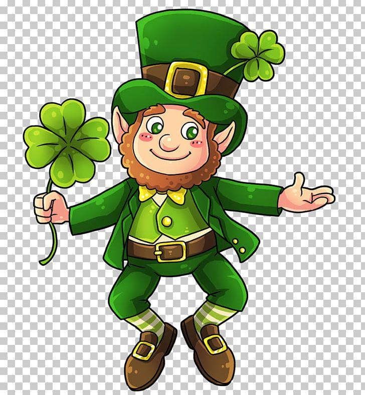 Leprechaun Saint Patrick's Day Shamrock PNG, Clipart, Amp, Animation.
