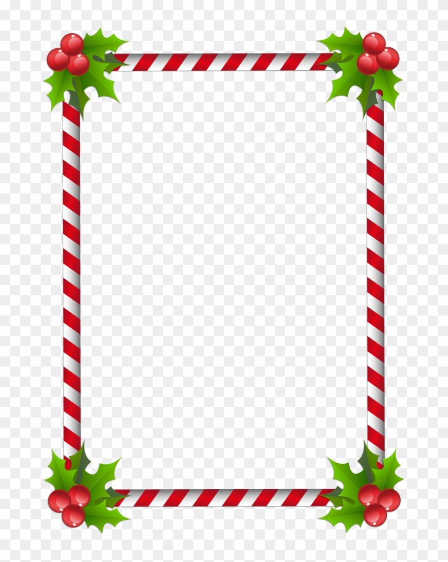 Christmas Letter Border Clip Art.