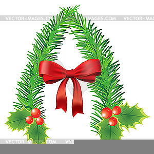 Christmas Alphabet Letter Clipart.