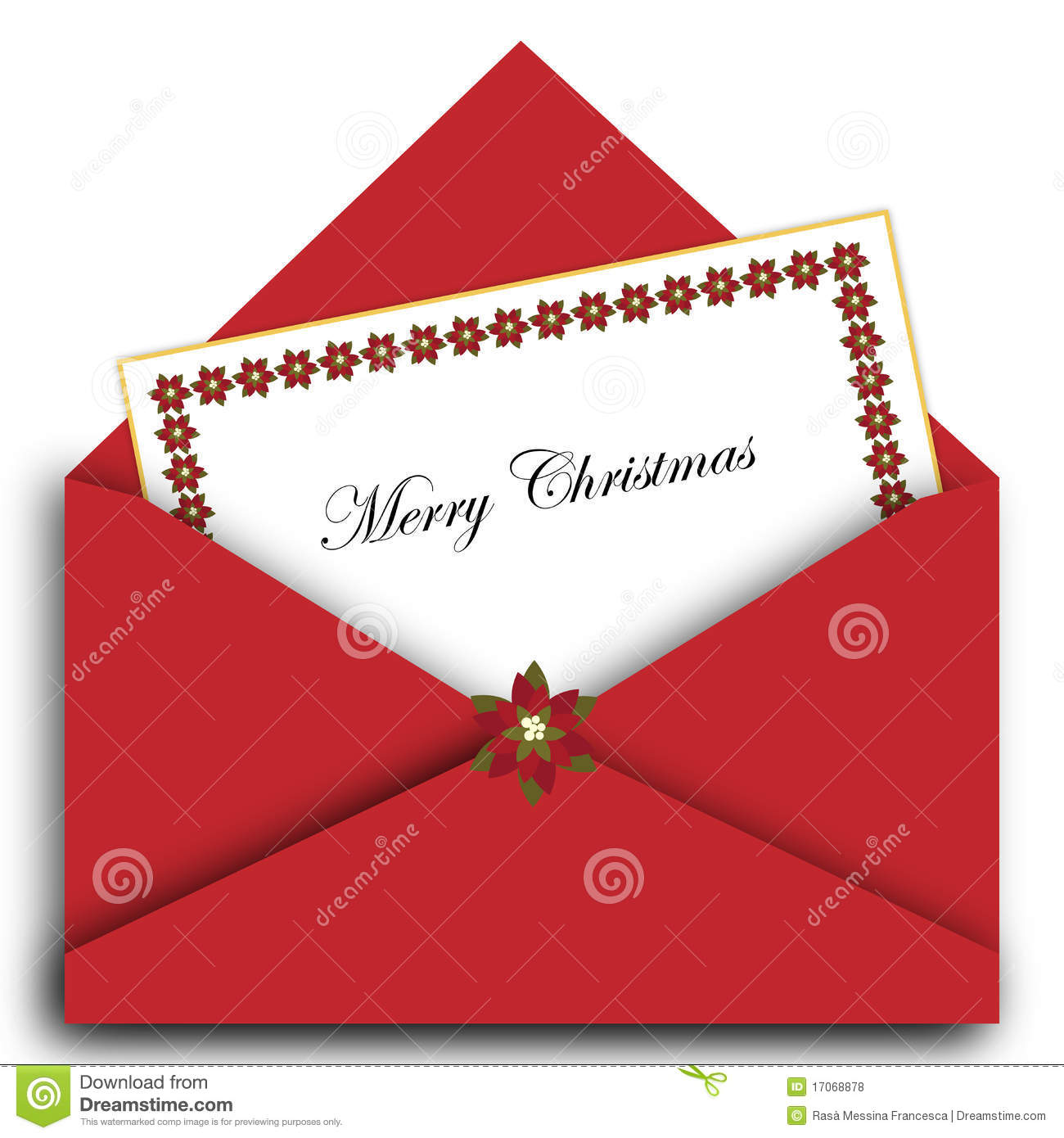 Christmas Letter Stock Illustrations.