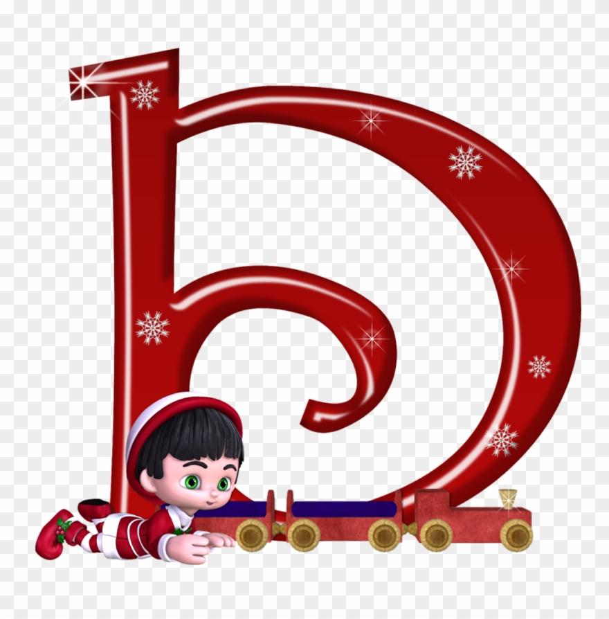 B *✿* Christmas Alphabet, Christmas Themes, Letter Clipart.