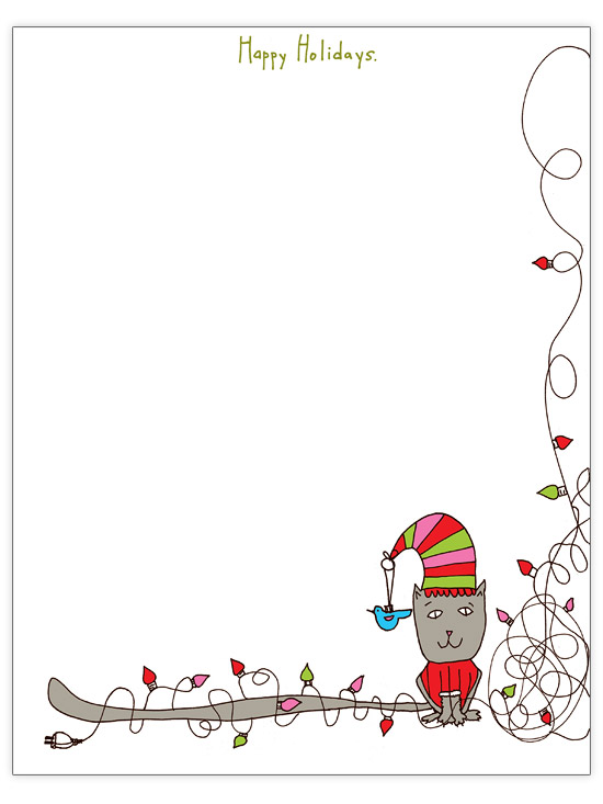 Free Christmas Letter Templates.