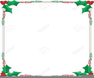 Christmas Letterhead Clipart.