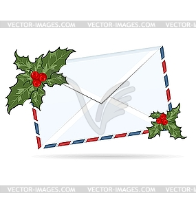 Christmas Letters Clipart.