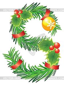 Christmas Alphabet Letters Clipart#1975413.