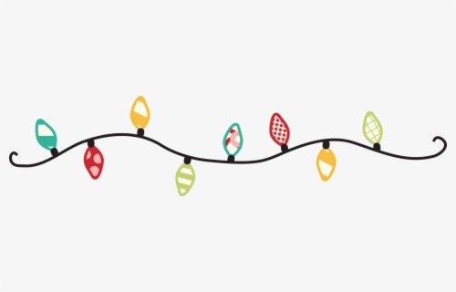 Free Christmas Light Clip Art with No Background.