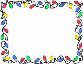 Christmas Borders Clip Art.