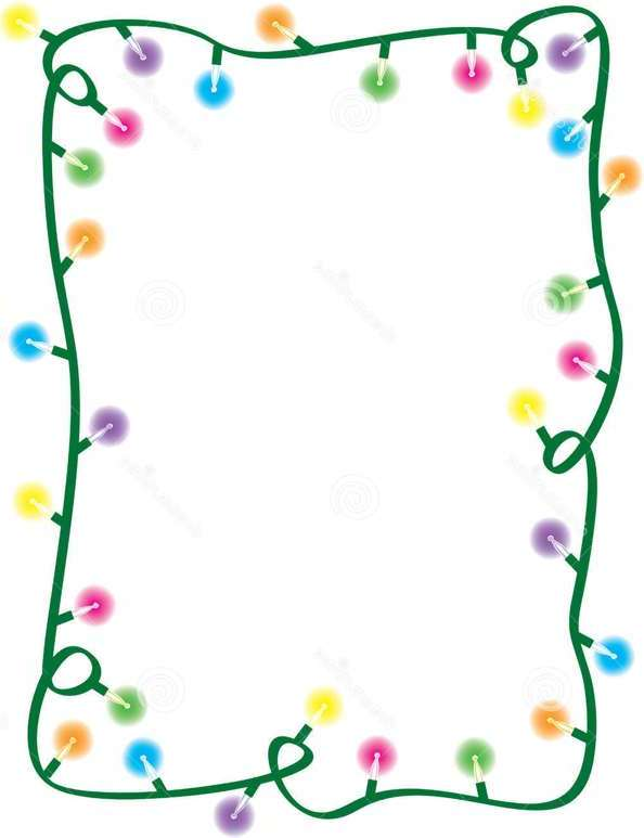 Free Christmas Lights Border, Download Free Clip Art, Free Clip Art.