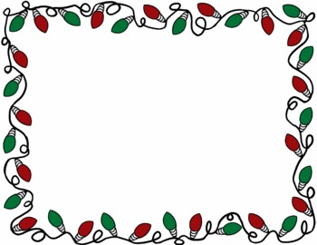 Christmas lights border clipart free clipart images 3.