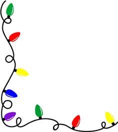 Christmas Lights Clipart Border & Christmas Lights Border Clip Art.