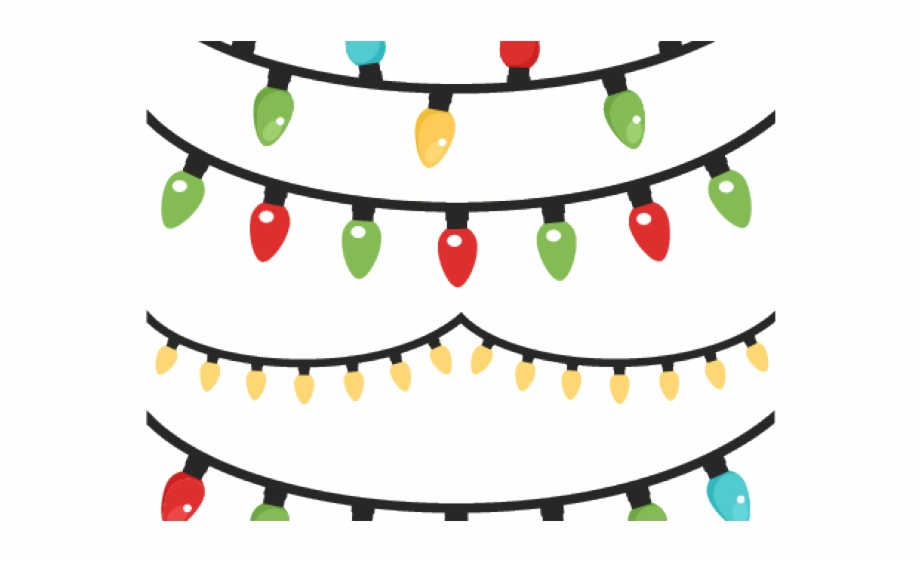 Christmas Lights Clipart Christmas Magic.