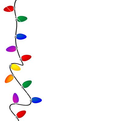 Christmas Lights Clip Art.