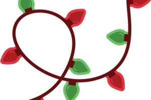 Christmas lights clipart transparent background 2 » Clipart Portal.