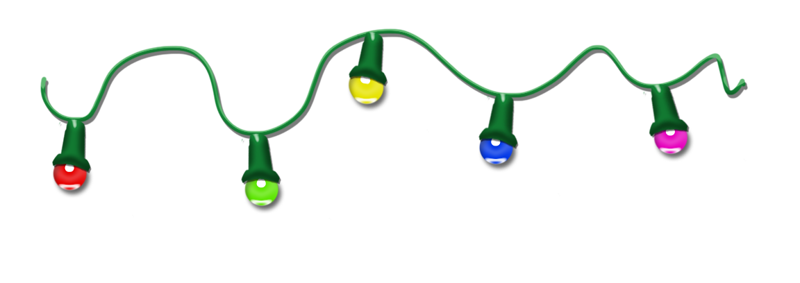 Free christmas lights clipart clip art 3.