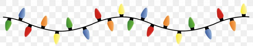 Christmas Lights Lighting Clip Art, PNG, 1600x297px.
