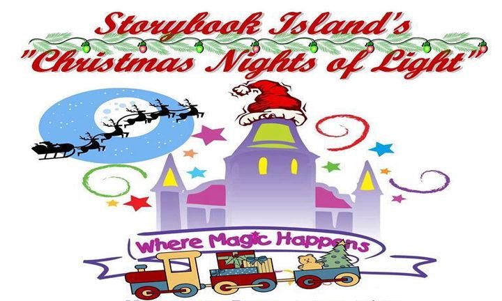 Storybook Island's Christmas Nights of Light.