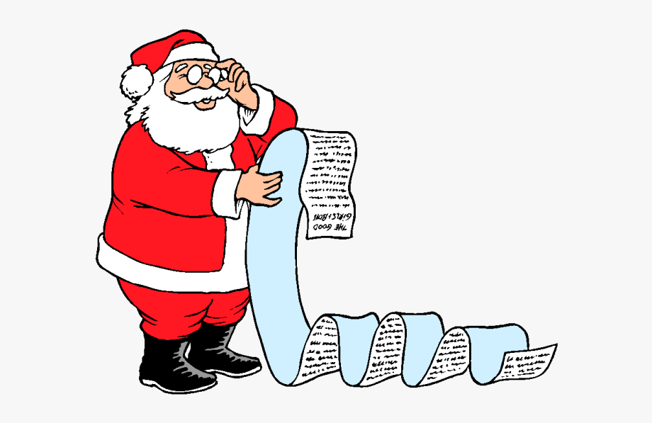 Kisspng Santa Claus Christmas Wish List Clip Art Father.