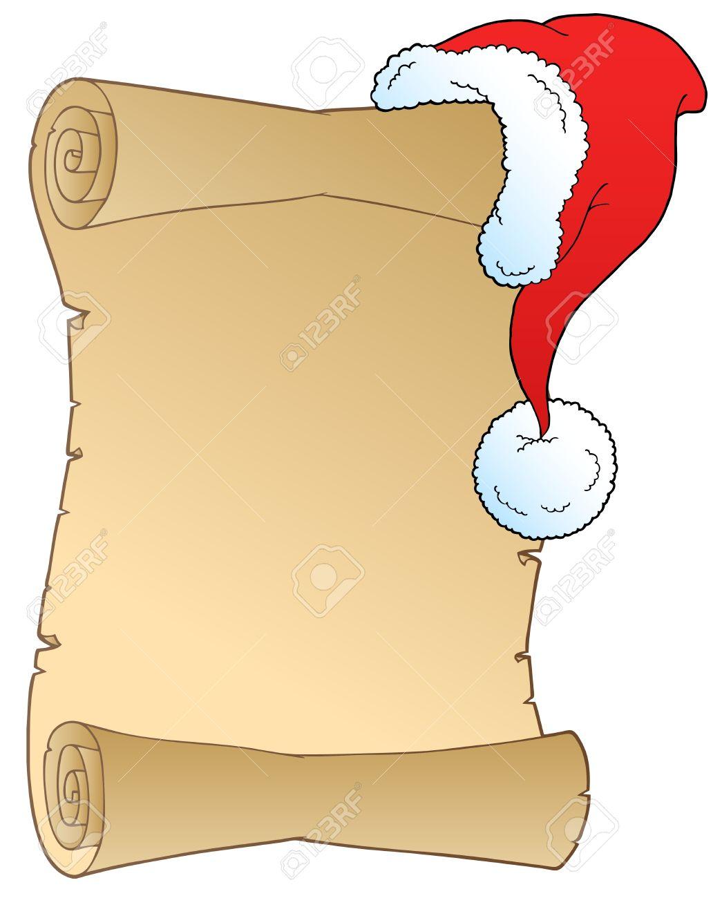 Christmas List Clipart.
