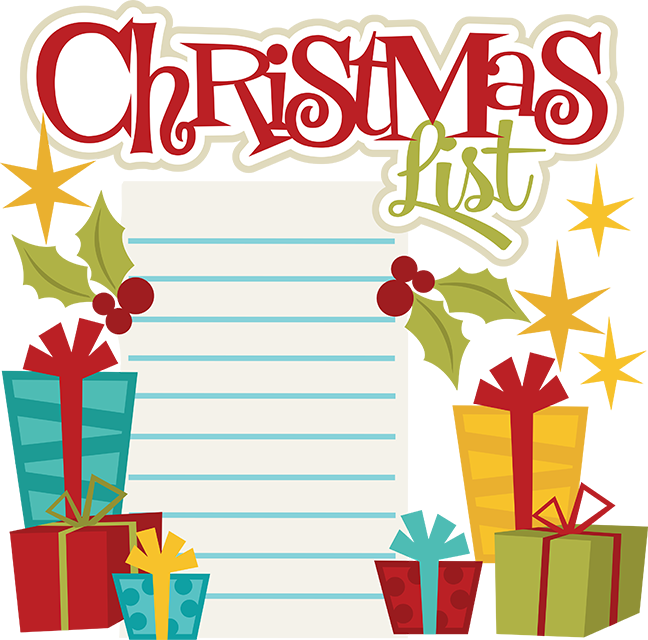 Christmas List.
