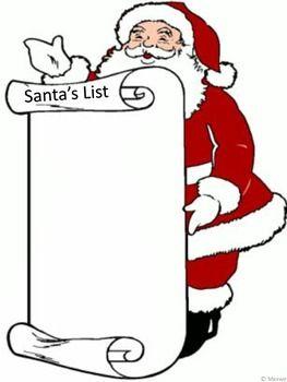 Free! Christmas Santa\'s List.