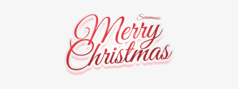 Merry Christmas Png Image With Transparent Background.