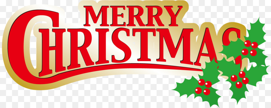 Christmas Logo png download.